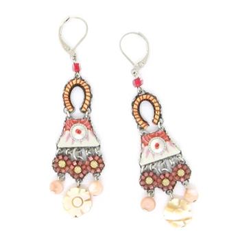 Ayala Bar Terra Rosa Earrings 11103 Spring 2014